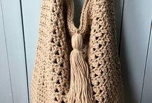 Crochet Tote Bag PATTERN Pinterest, Bag Crochet Pattern, Boho Crochet Bag, Slouchy Bag, Summer Tote