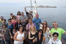 Fam Trip: Turexpo 2017 / Salida en Barco por la Ría de Arousa de un grupo de Turoperadores, reunidos en Galicia con motivo de la feria Turexpo.