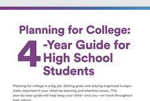 4 Year Plan / by WIU Career Development Center
