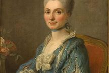 18th century robe à la Henri IV