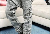 Fashion - Drop Crotch Pants