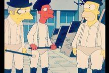 Popkulttuuri ja simpsonit / Simpsons. Popculture. Stanley Kubrick