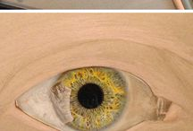 How to paint eyes, faces and human form