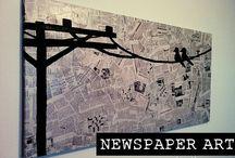 sanomalehtitaide