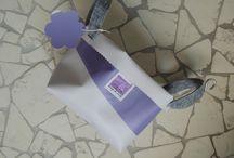 cestini#recycle / cesti fatti con banner pvc e manici in feltro