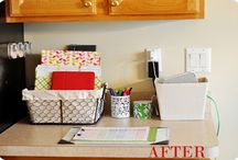 DIY organizing / by Mel the Crafty Scientist