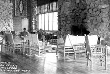 Historic Photographs / The lodge was built in 1925-- here are some photographs of its earlier days.