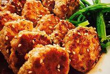 Meatballs with Sweet Vinegar Sauce