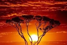 Sunrises and Sunsets in Africa