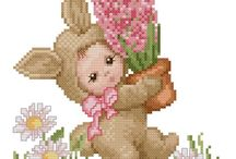 Cross Stitch: Easter