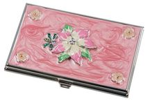 Engraved Business Card Cases for Women