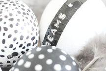Easter ideas in black & white