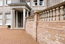 Portico entrance which After the Antique are extremely proud to have produced. / A recent project for After the Antique for which a happy customer is immensely proud of and so are we!