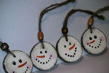 Ornamenti pupazzo di neve