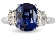 Zameer Kassam Bespoke Sapphire Jewelry / Bespoke jewels designed by Zameer Kassam featuring magnificent blue sapphires.