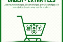 Order - Extra Fees Extension / Include any nature of additional fees/charges you need to add in specific products offering specific features like insurance, installation charges etc and offer your customers those bells and whistles they would love to enjoy.