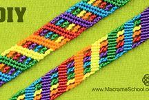Macramé armband