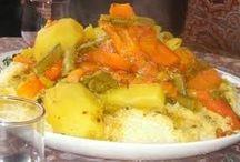 Richesses et saveurs locales / Moroccan dishes / Gastronomie berbère du Haut Atlas marocain aux mille et une saveurs et couleurs...