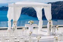 Wedding Vennues in Santorini