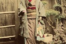 magicfest refs / late 19th century - early 20th  century japan & youkai