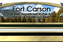 Fort Carson, CO / Fort Carson, CO Board with PINS about Housing, Things To Do, and other useful information