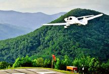 Flying at Mountain Air Country Club / Mountain Air Country Club (MACC) in the beautiful mountains just northeast of Asheville, NC boasts its own private, paved airstrip (2NC0) on top of the mountain at 4,400 feet elevation. In today's typical general aviation aircraft, MACC can be reached from more than 70% of the US east of the Mississippi River in three hours or less.