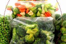 como congelar verduras e legumes sem perder os nutrientes
