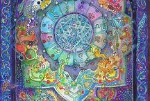 Mandala / Quelques mandalas magiques et étonnant de quoi nous inspirer... / by E M 888