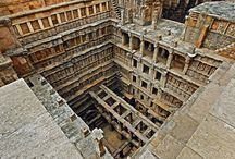 Rani ki vav- Where Romance meets Religion / Patan, Gujarat is the home for this beautifully structured step-well known by the name 'Rani ki Vav'. Water was cherished in the dry regions of Rajasthan and Gujarat and hence the presence of step-wells and reservoirs were common for storing the water for the dry season. But a visit to this beautiful stepwell will make you realize that there is more to this stepwell.