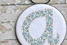 Art :: Hoops + Embroidery / Pretty embroidery and hoop art.