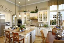 Kitchens / Kitchens I love, or want or dream of!
