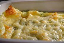 Canelloni lasagne