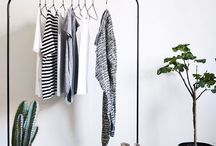 clothes rack styling