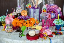 Sweet 60's Engagement Style Photo Shoot / props, centerpieces, linens, furniture, backdrop, wardrobe.