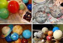Planeten / Planeten knutsellen