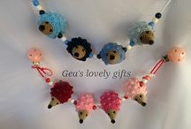 Gea's lovely gifts / leuke kraamcadeaus!
