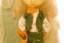 текстильные куклы / мои произведения