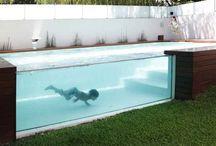 בריכות שחיה