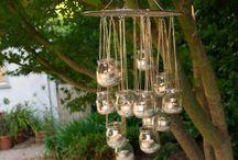 backyard wedding ideas / by Karen Paquette