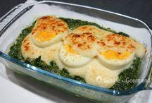 Épinard œuf