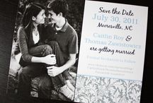 Save the Date / Ideas for our Save the Date cards
