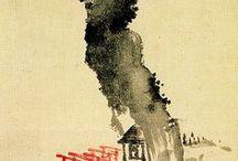 japanese/chinese illustration