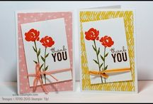 Best of 2015...my card designs / Cards I've created during 2015 using Stampin' Up! products.