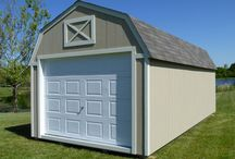 The Lofted Garage / Learn more about the Cook Lofted Garage building option.
