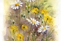 decoupage kwiaty