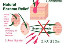 Natural Eczema Skin Care / Natural Eczema Relief or atopic dermatitis treatments begin with allergy elimination of your cleansers and moisturizers. Recent work shows that infection plays a role  in eczema so washing in luke warm full bath with a 1/4 cup of chlorox is recommended by the Mayo Clinic. Your doctor's approval would be best.