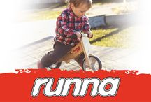 Runna Balance Bikes / A Wooden Balance bike helps kids get a head start on learning to ride a two wheel bike. These wonderful, quality wooden bikes teach young children to keep their balance, maintain control and help them gain bike confidence. http://www.thewoodentoybox.co.nz