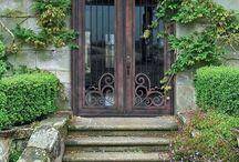 Beautiful doors and windows.
