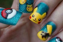 Pokemon Go Nails