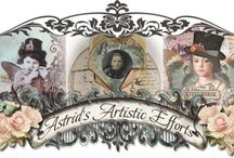 Astrid's Artistic Efforts / by Cj Messa